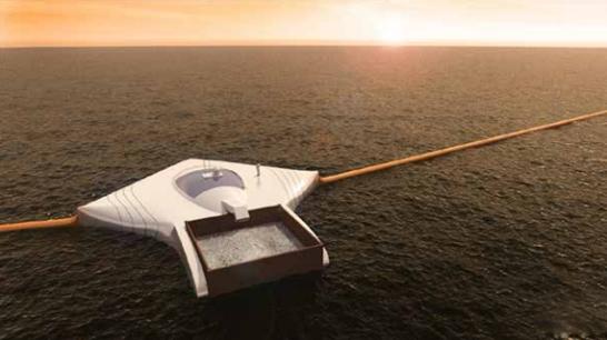 90后男孩造清洁飞船 横扫全球海洋垃圾