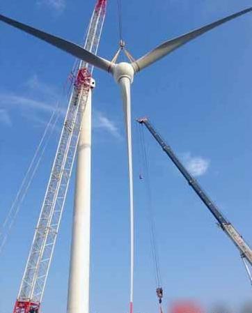 第一台风力发电机组