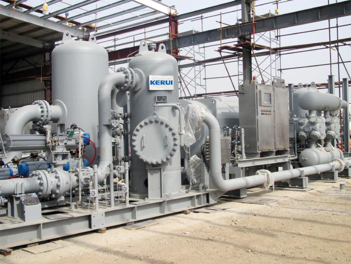 科瑞石油最强环境适应能力往复式压缩机应用于全球海拔最高油气田图片