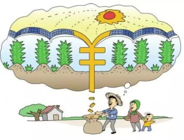 光伏扶贫项目的模式:户用分布式光伏发电