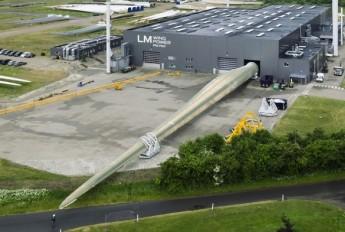 丹麦建全球最大风力发电机