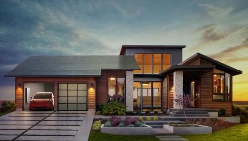 时尚别墅屋顶图片
