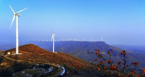 烟台迎大风天气 风电出力、发电量均创历史新高