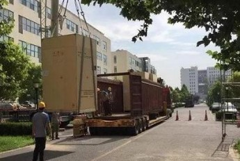阳江核电6号机组核级DCS设备出厂