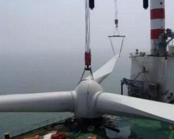 全球风轮直径最大的5MW海上风电机组