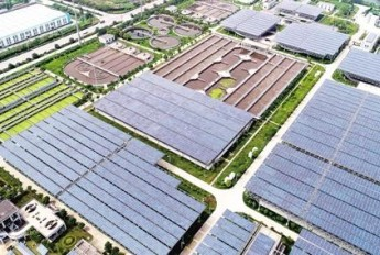 污水处理厂建光伏 发电自用绿色节能