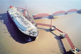 江苏LNG接收站迎来第200艘船