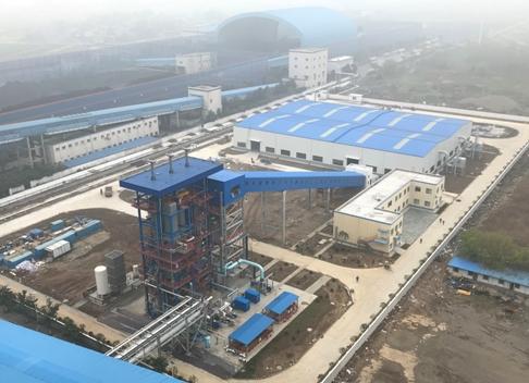 国内首个以农林秸秆为主要原料的生物质气化与燃煤耦合发电项目试验成功