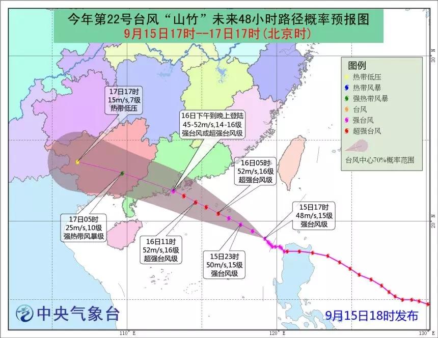 """超强台风""""山竹""""登陆!相关海上风电做好准备了吗?"""