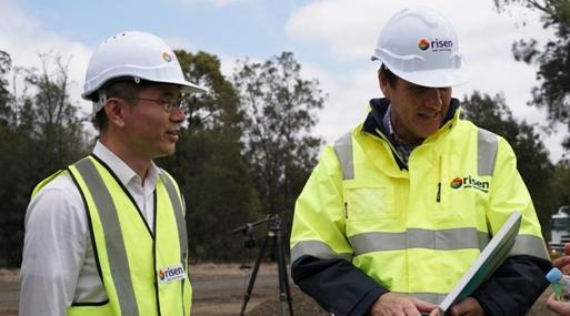 东方日升在澳首个光伏项目获昆州自然资源和矿业部长高度肯定