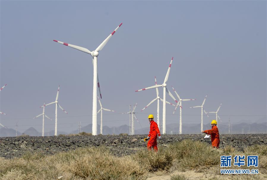 新疆:前八个月风电和光伏发电持续提升