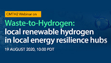 Waste-to-Hydrogen: Local Renewable Hydrogen in Local Energy Resilience Hubs Webinar
