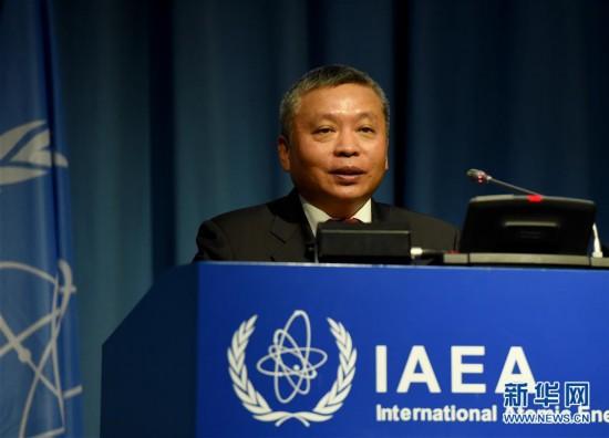 (国际?图文互动)(1)中国代表:应对气候变化,核能作用不可或缺